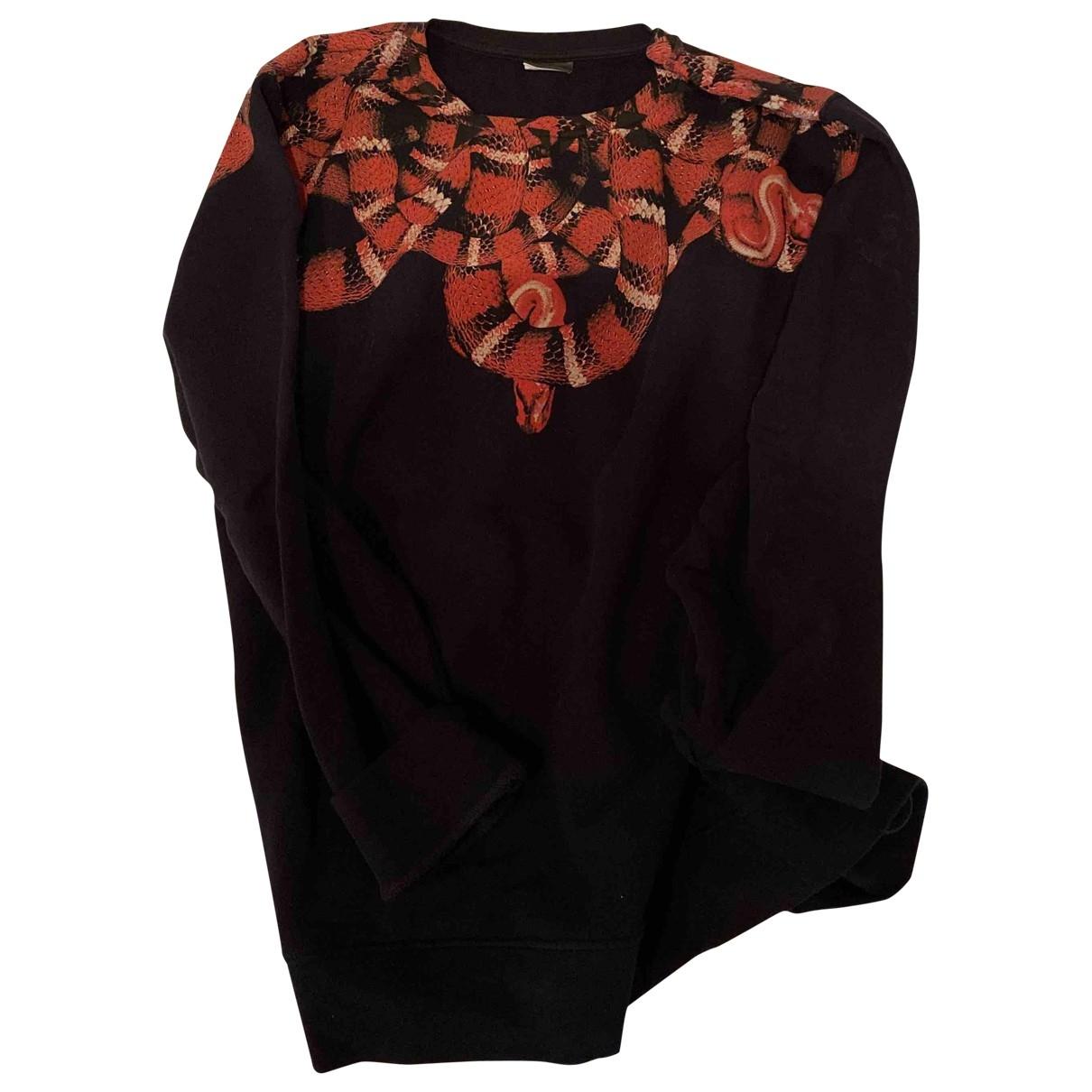 Marcelo Burlon \N Pullover.Westen.Sweatshirts  in  Schwarz Baumwolle
