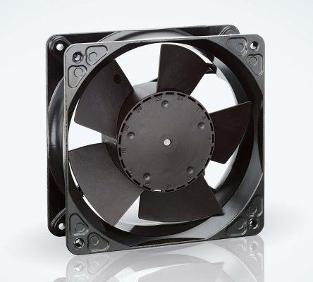 ebm-papst , 24 V dc, DC Axial Fan, 119 x 119 x 38mm, 260m³/h, 12W, IP20