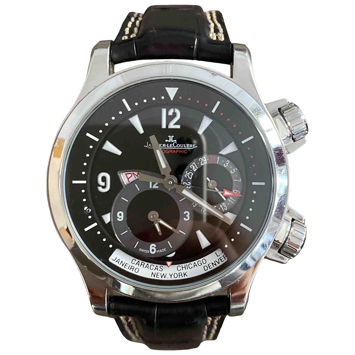 Jaeger-lecoultre Master Compressor  Uhr in  Silber Stahl