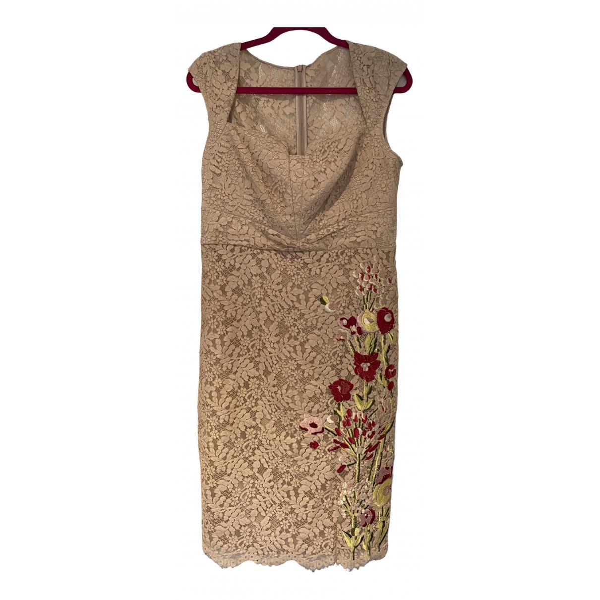 Karen Millen \N Kleid in  Rosa Baumwolle - Elasthan