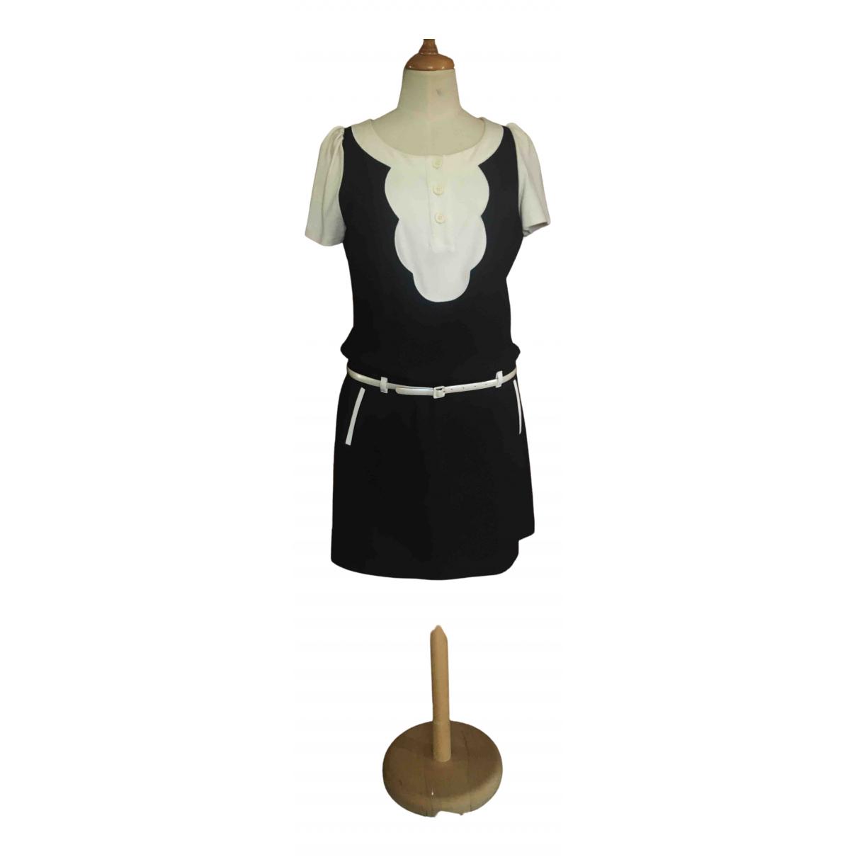 Moschino Love \N Kleid in  Schwarz Viskose