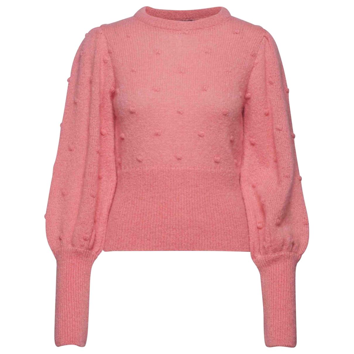 Birgitte Herskind \N Pullover in  Rosa Wolle
