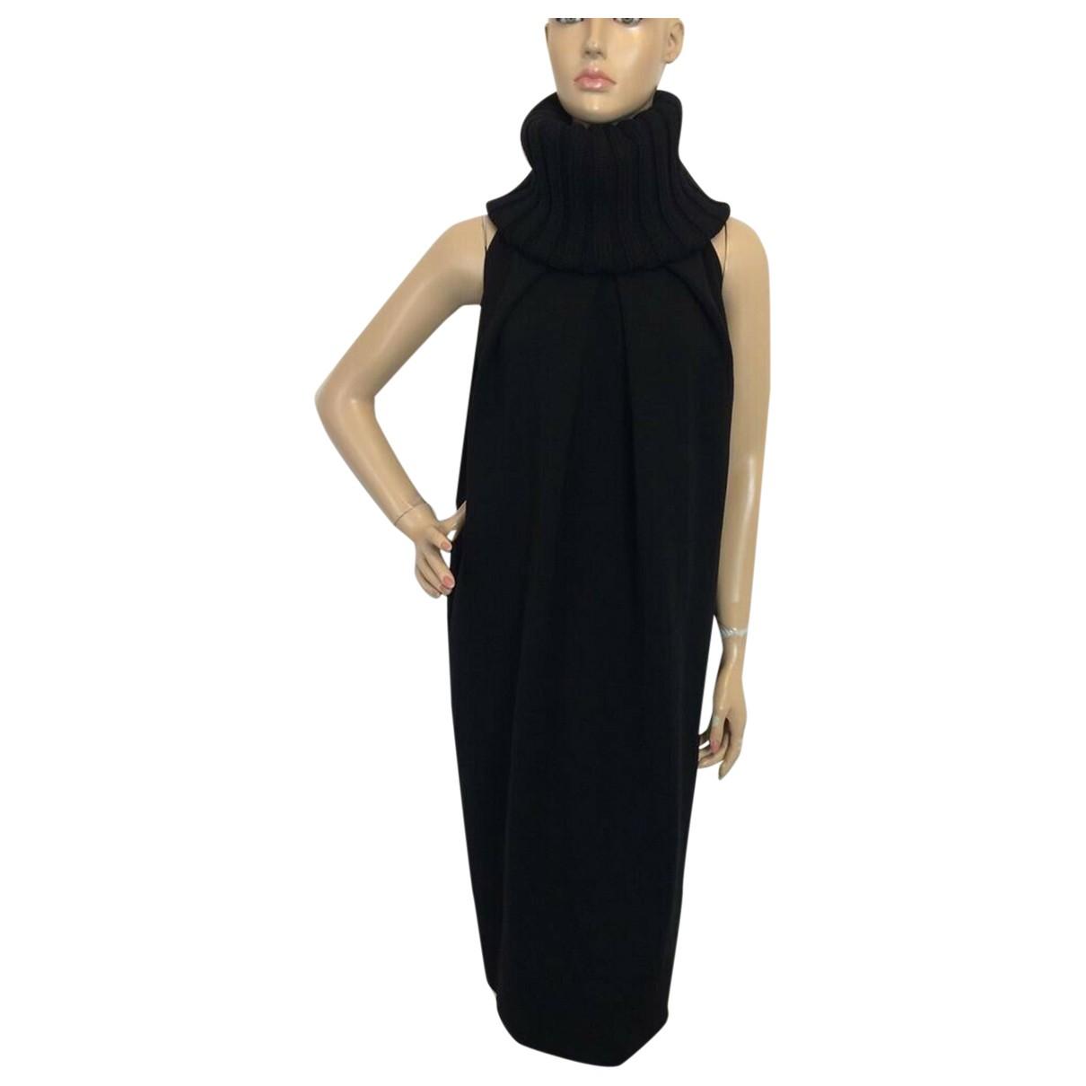 Giambattista Valli \N Black Wool dress for Women 38 IT