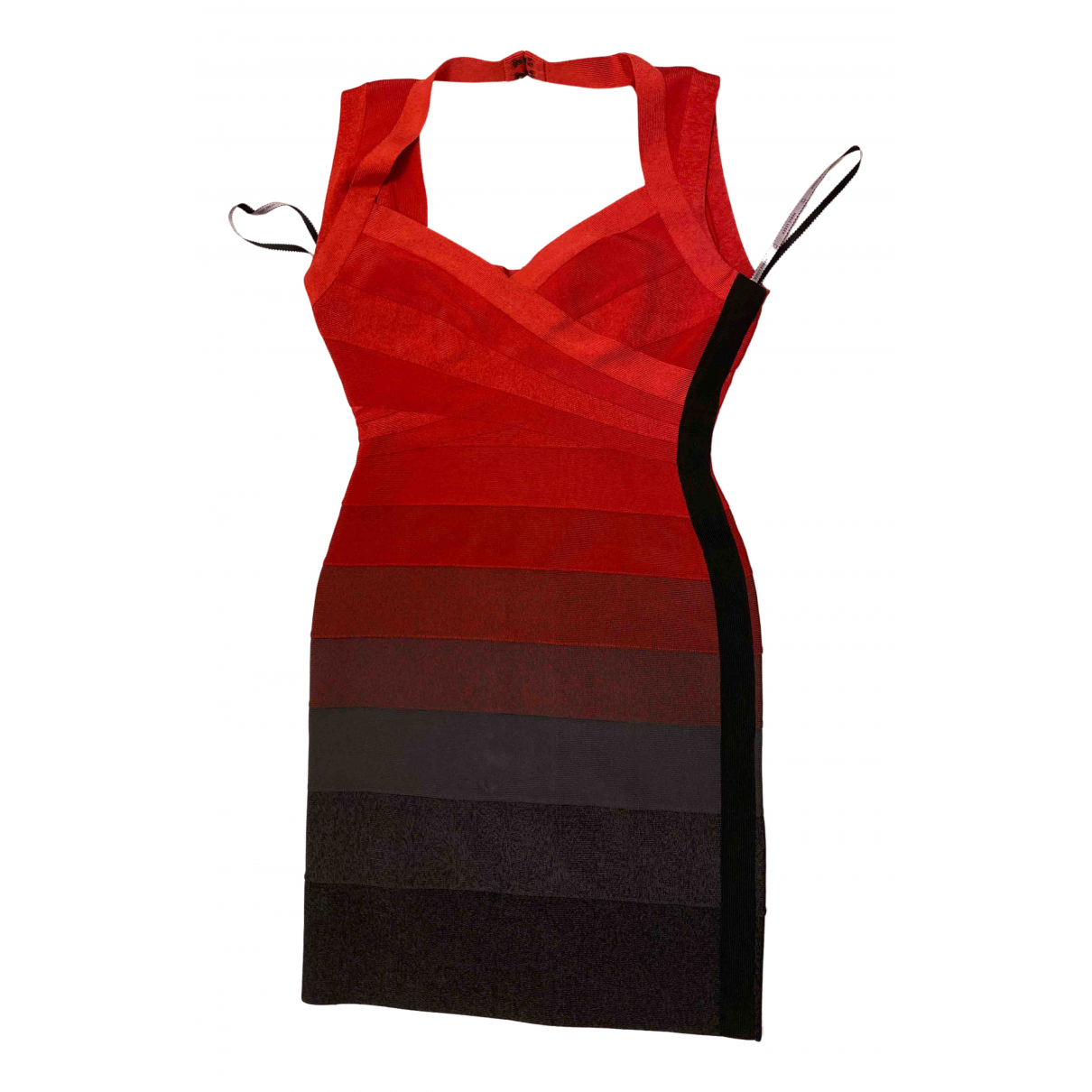 Herve Leger \N Kleid in  Bunt Polyester