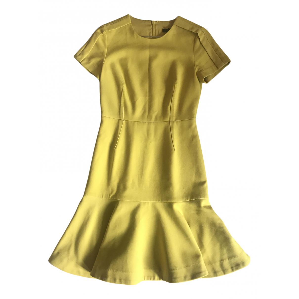 Banana Republic N Yellow Cotton dress for Women 36 FR