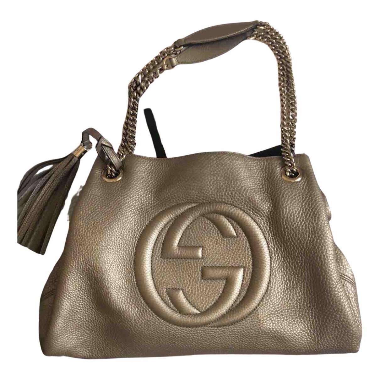 Bolso  Soho de Lona Gucci