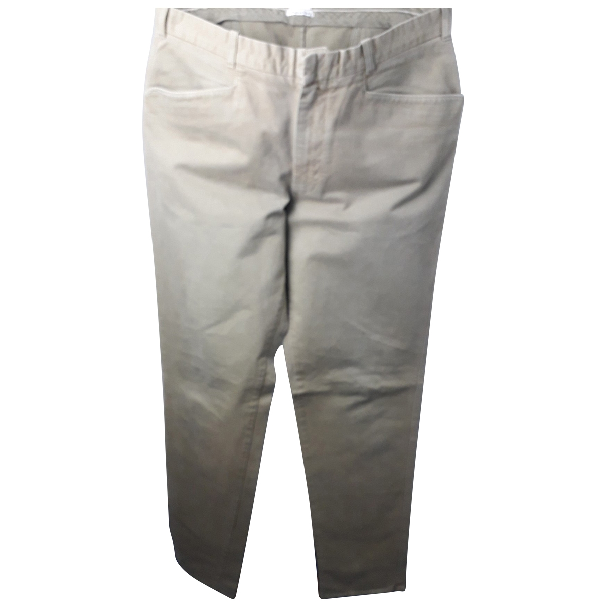 Cp Company \N Beige Cotton Trousers for Men 54 IT