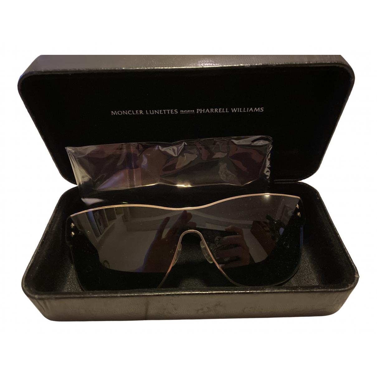 Moncler \N Sonnenbrillen in  Schwarz Kunststoff