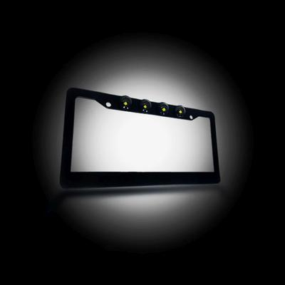 RECON LED License Plate Frame - 264310BK