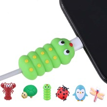 1pc Cute Insect Shaped Cable Protector