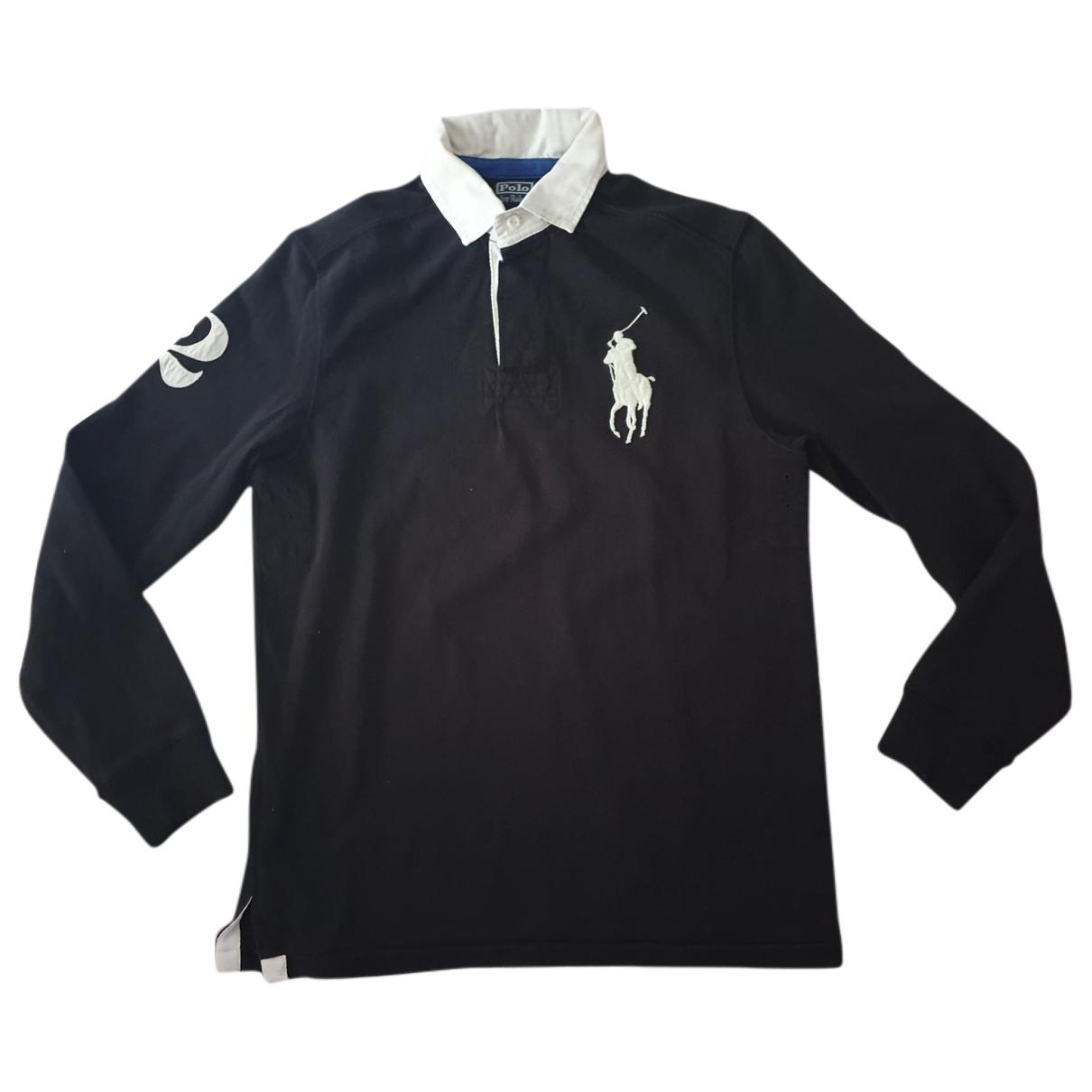 Polo Ralph Lauren - Polos Polo classique manches longues pour homme en coton - noir
