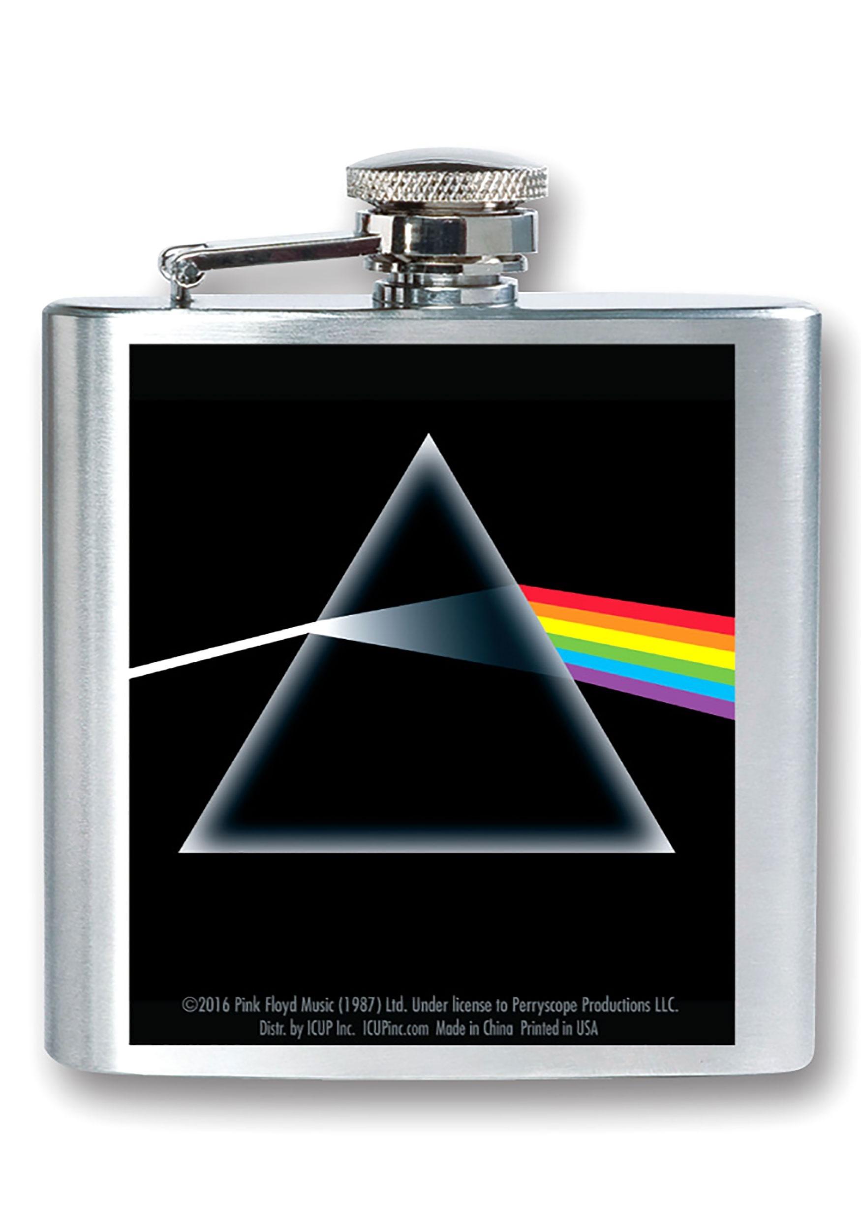 Pink Floyd 8 oz Dark Side of the Moon Flask