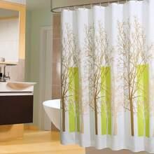 Tree Print Shower Curtain