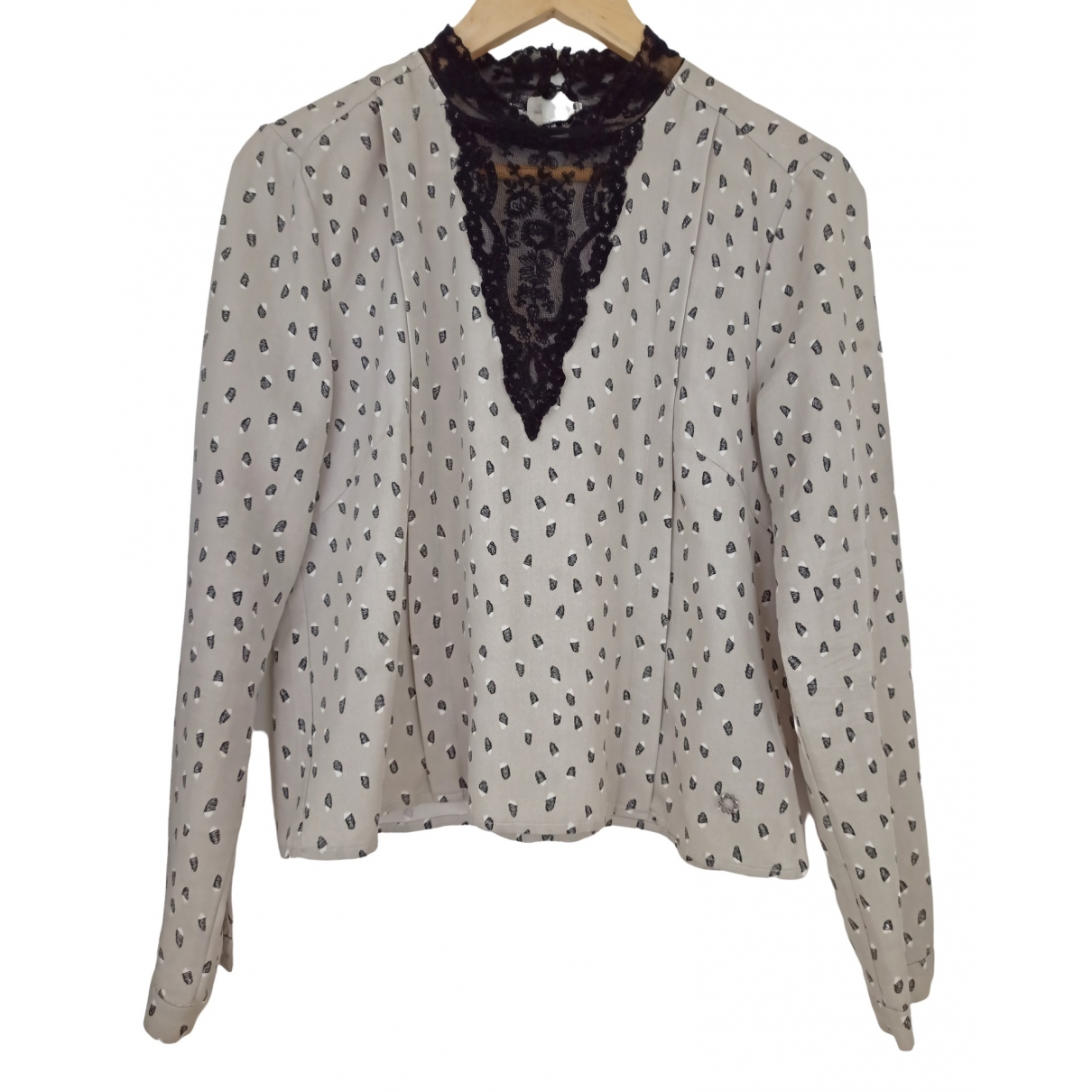 Non Signé / Unsigned \N Grey  top for Women 40 FR