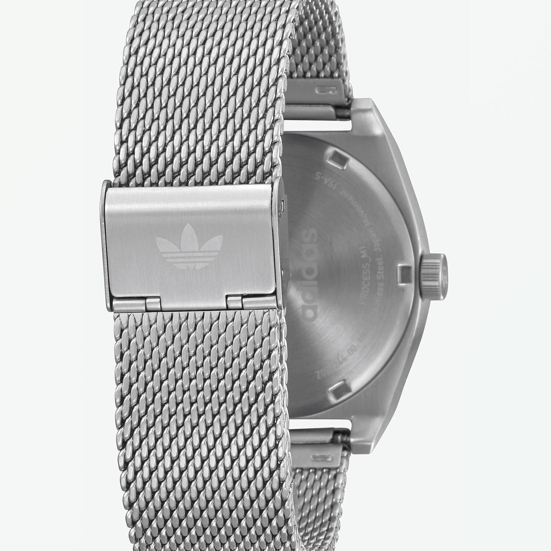 Adidas Men's Process M1 Z02 3244-00 Silver Stainless-Steel Quartz Fashion Watch