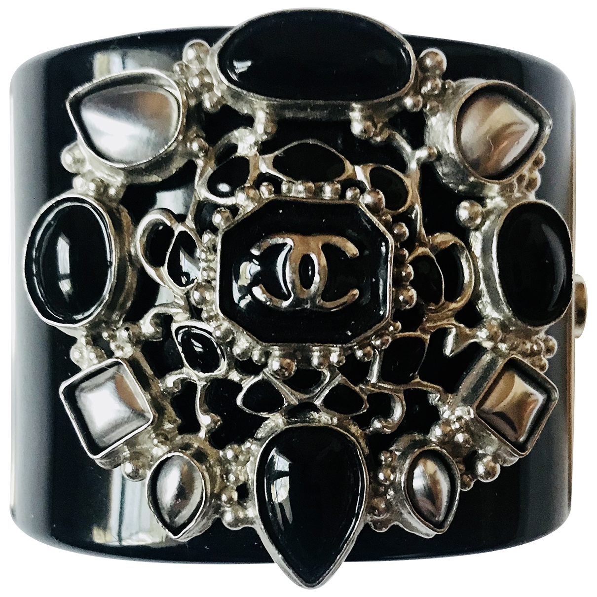 Chanel - Bracelet   pour femme - noir