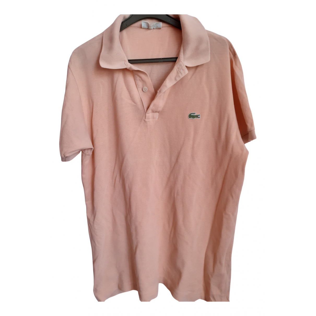 Lacoste \N Poloshirts in  Orange Baumwolle