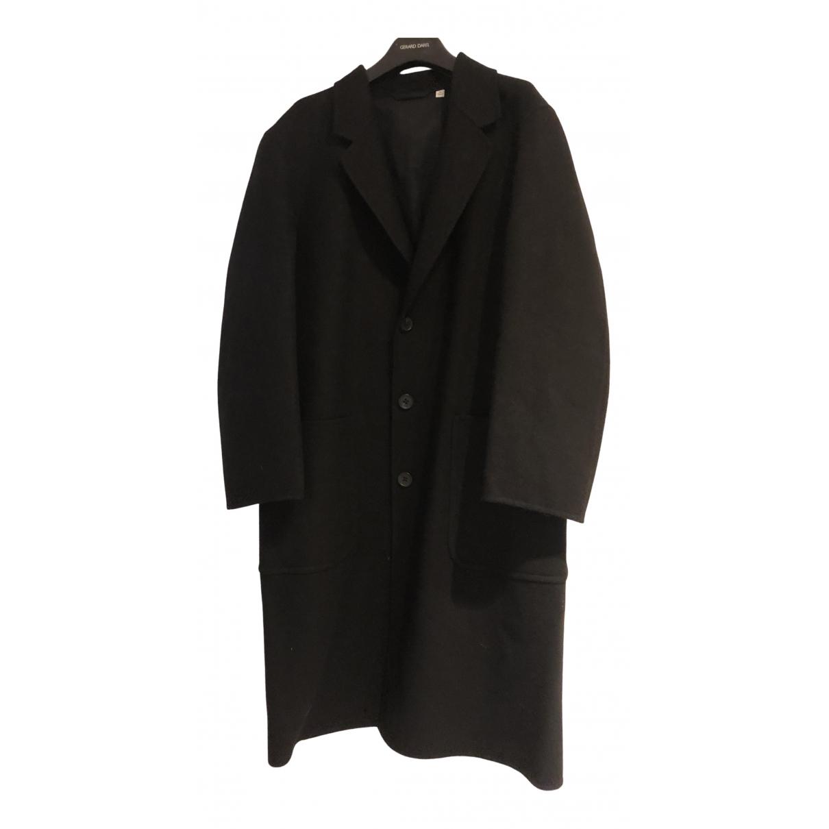 Uniqlo N Black Wool coat for Women XS International