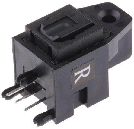RS PRO , Jack Fibre Optic Connector, Toslink, Black (5)