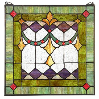 TF28013 Victorian Swag Stained Glass