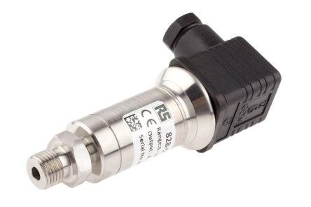 RS PRO Pressure Sensor for Oil, Water , 1bar Max Pressure Reading Current