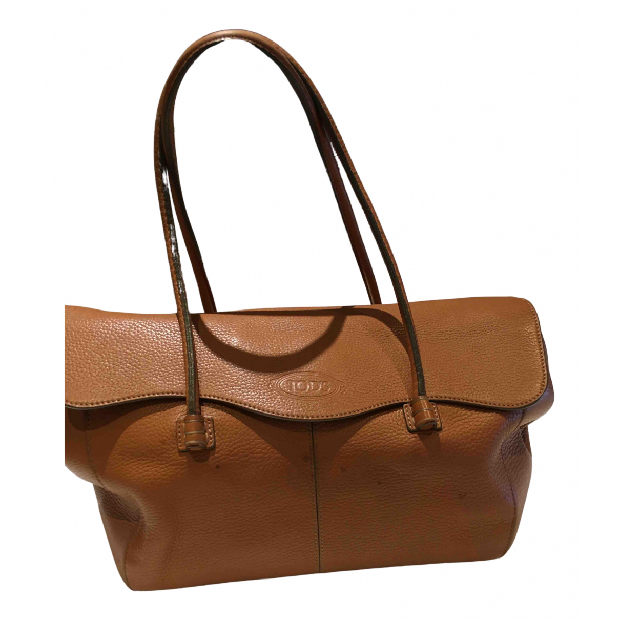 Tod's N Camel Leather handbag for Women N