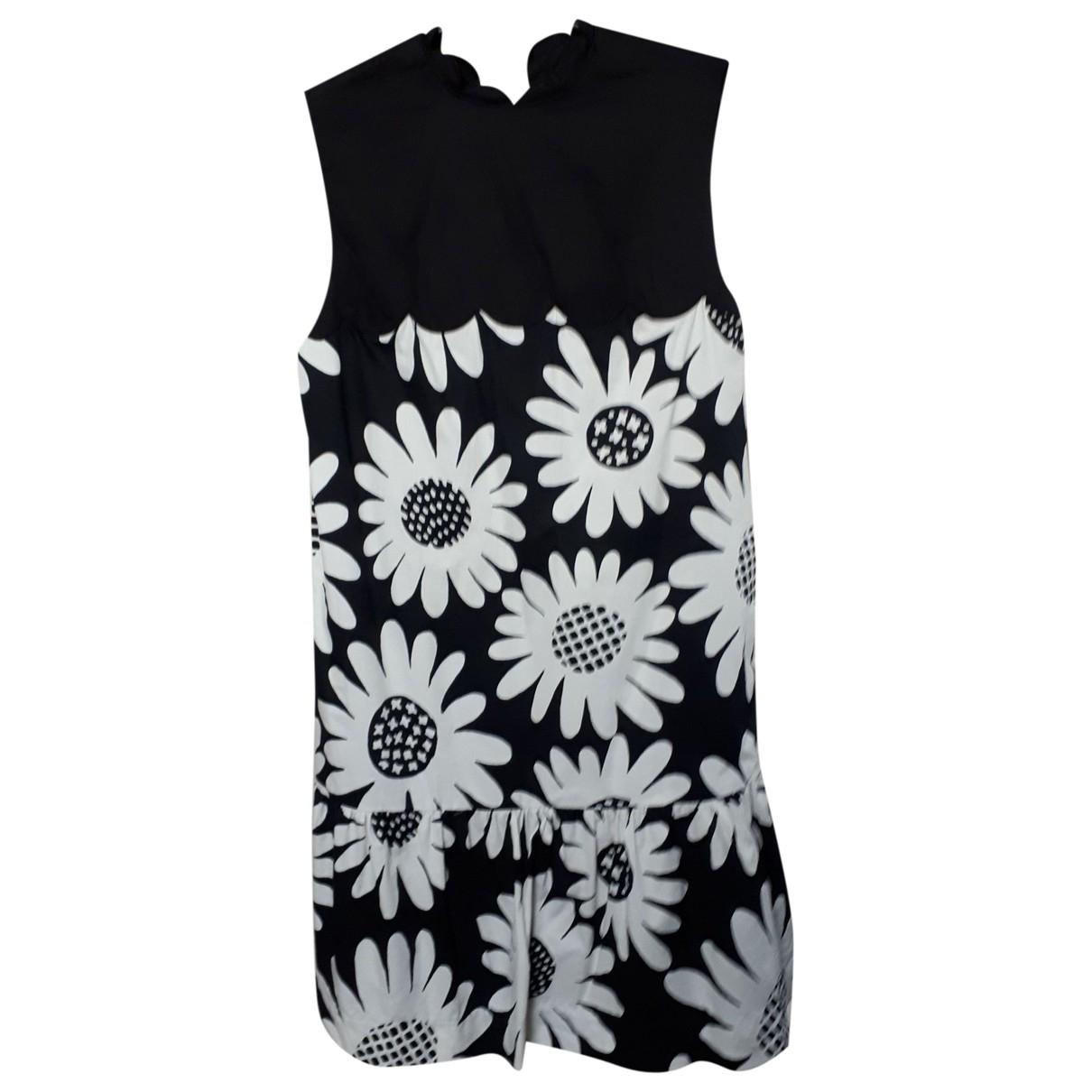 Victoria Beckham For Target \N Kleid in  Schwarz Baumwolle