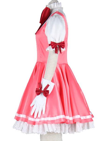 Milanoo Halloween Traje de Kinomoto Sakura de Cardcaptor Sakura