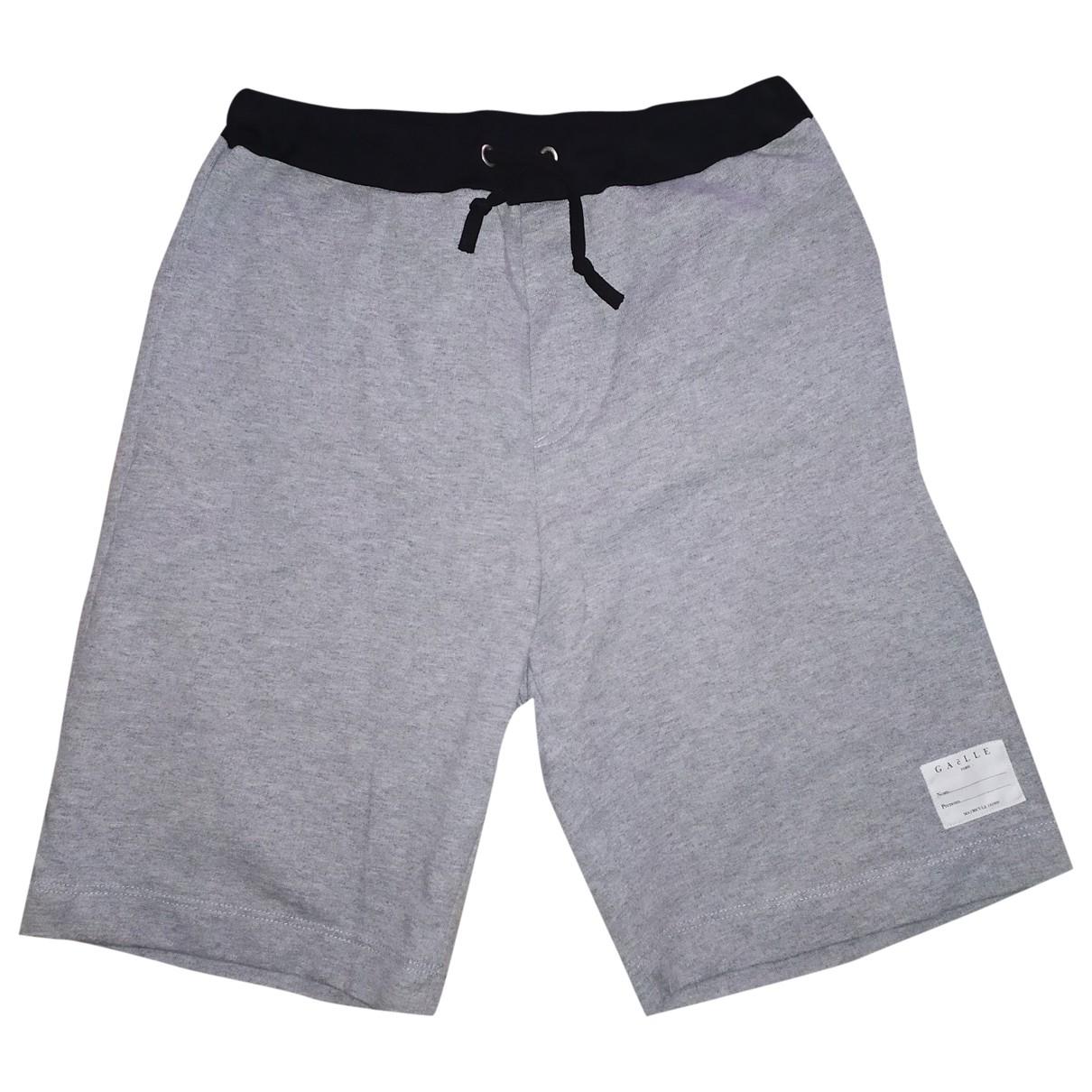 Gaelle Paris \N Shorts in  Grau Baumwolle