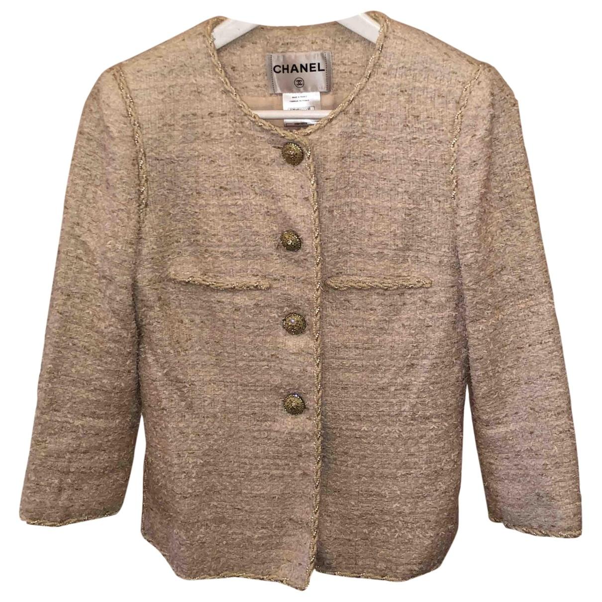 Chanel \N Pink Tweed jacket for Women 38 FR