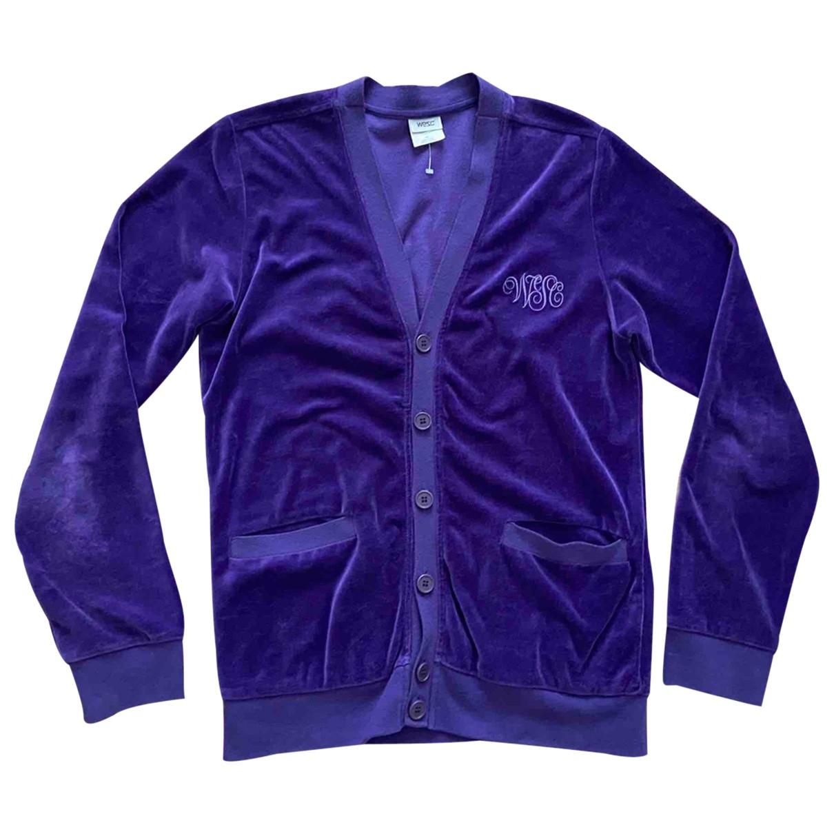 - Pulls.Gilets.Sweats   pour homme en coton - violet