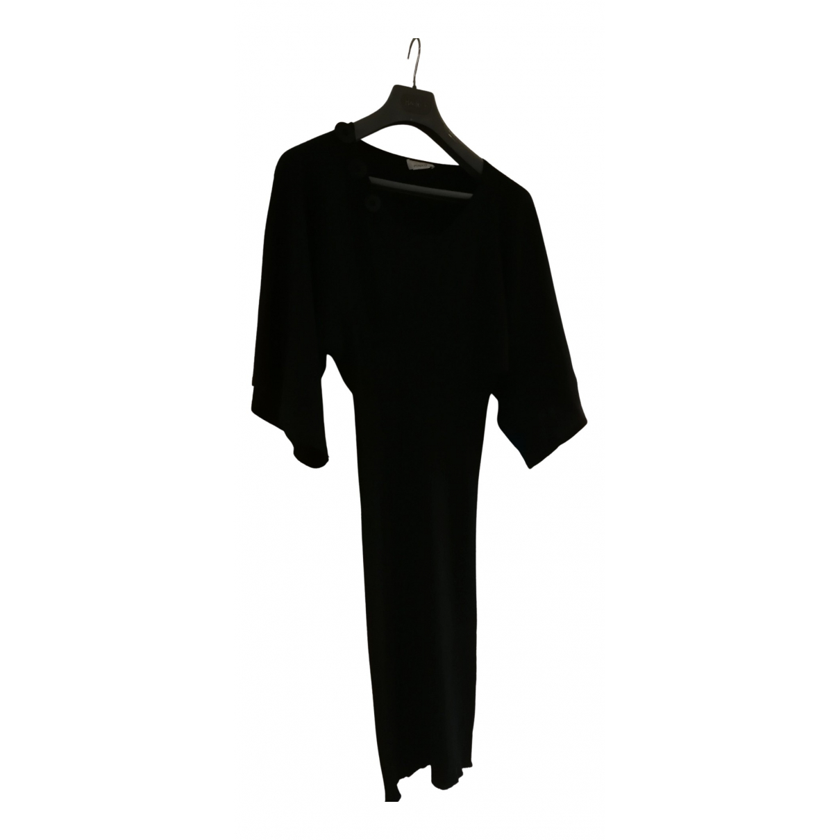 Pinko N Black Wool dress for Women 36 FR