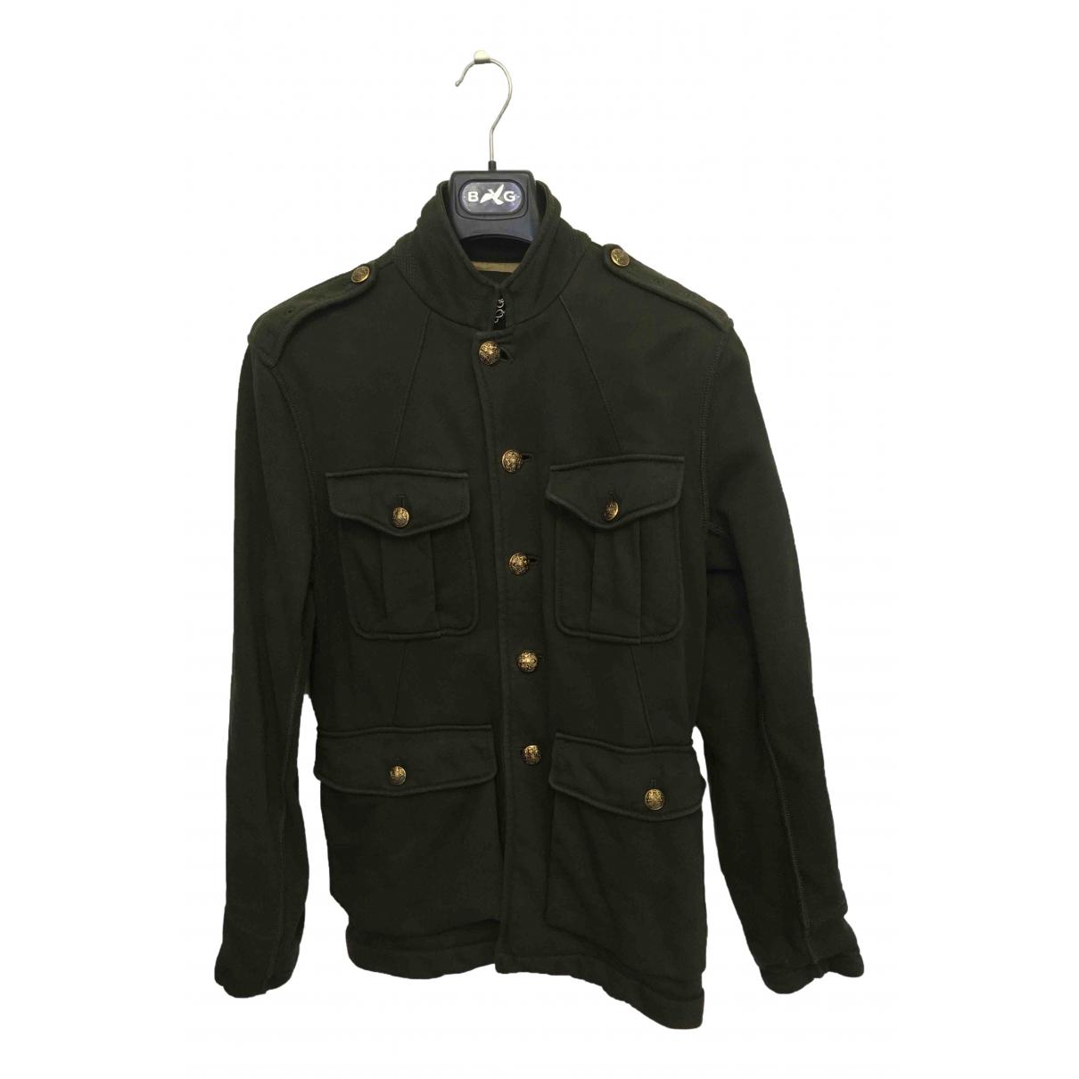 Polo Ralph Lauren \N Jacke in  Gruen Baumwolle