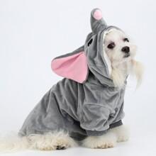 Abrigo de perro en forma de elefante