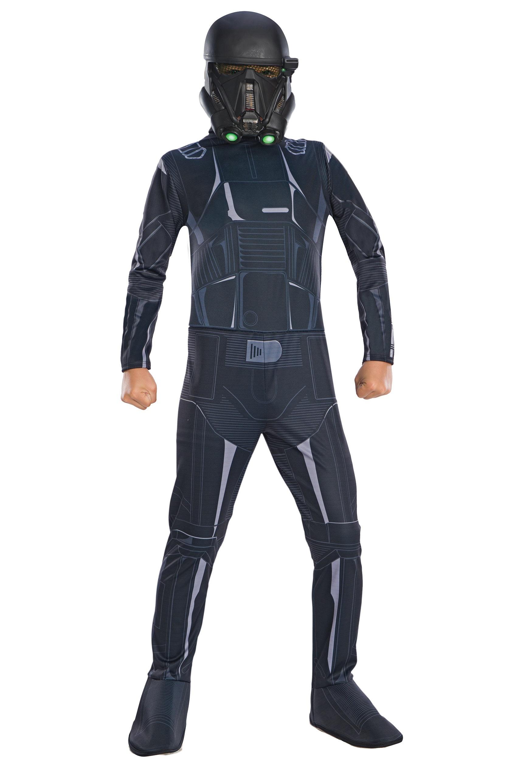 Star Wars: The Mandalorian Death Trooper Costume for Kids