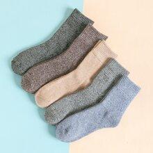 5 Paare Maenner einfache Socken