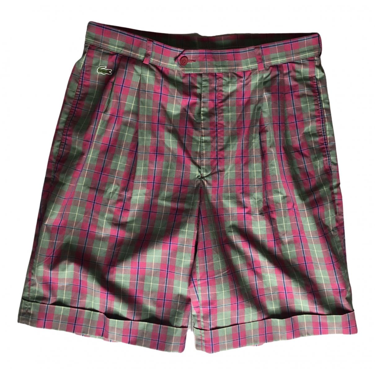 Lacoste \N Shorts in  Rosa Baumwolle