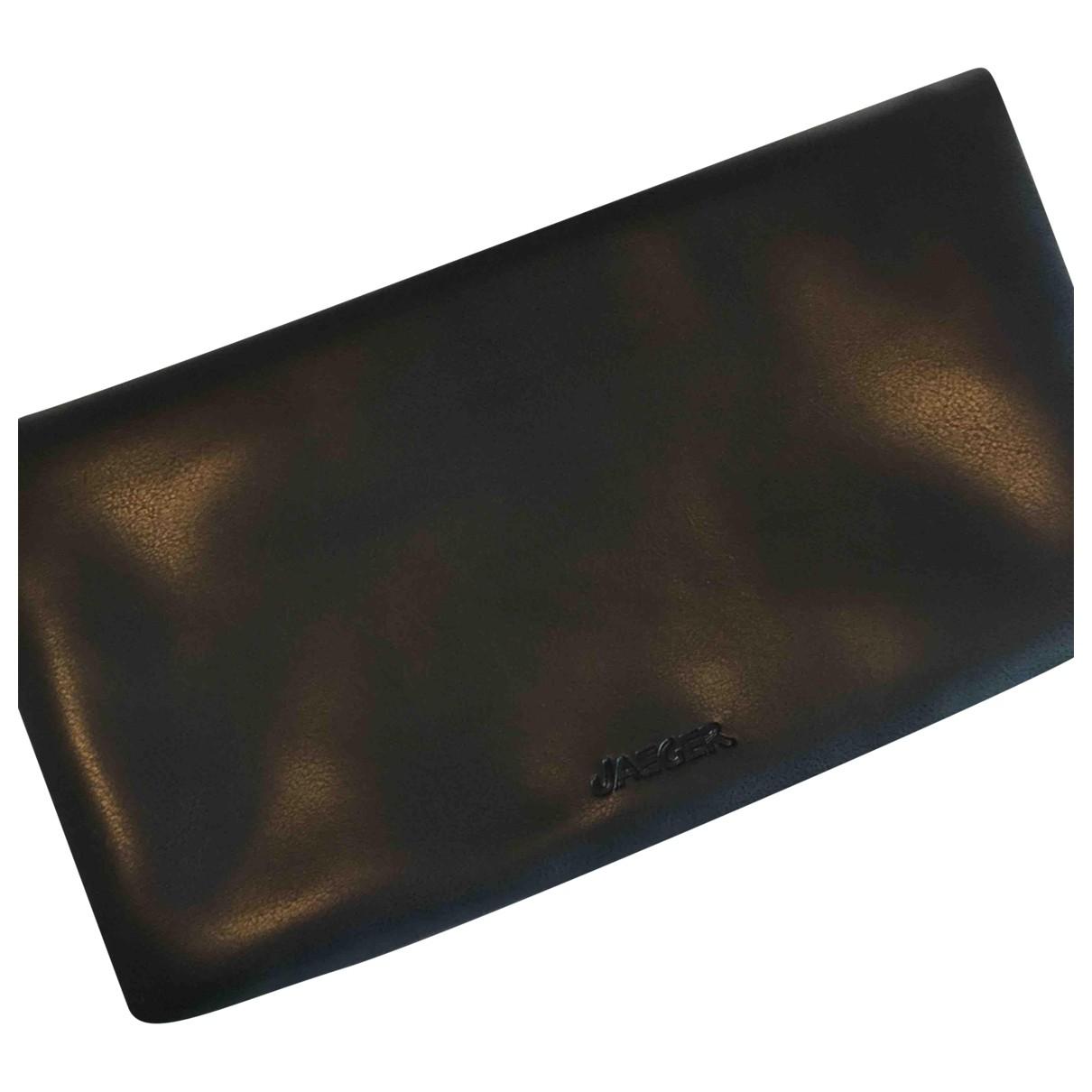 Bolsos clutch en Plastico Negro Jaeger