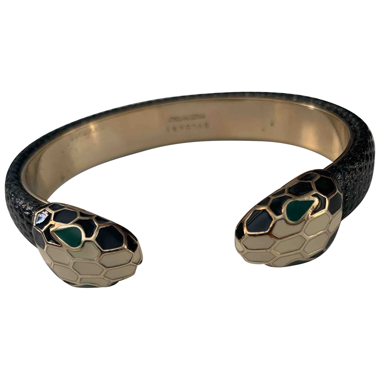 Bvlgari - Bracelet Serpenti pour femme en metal - vert