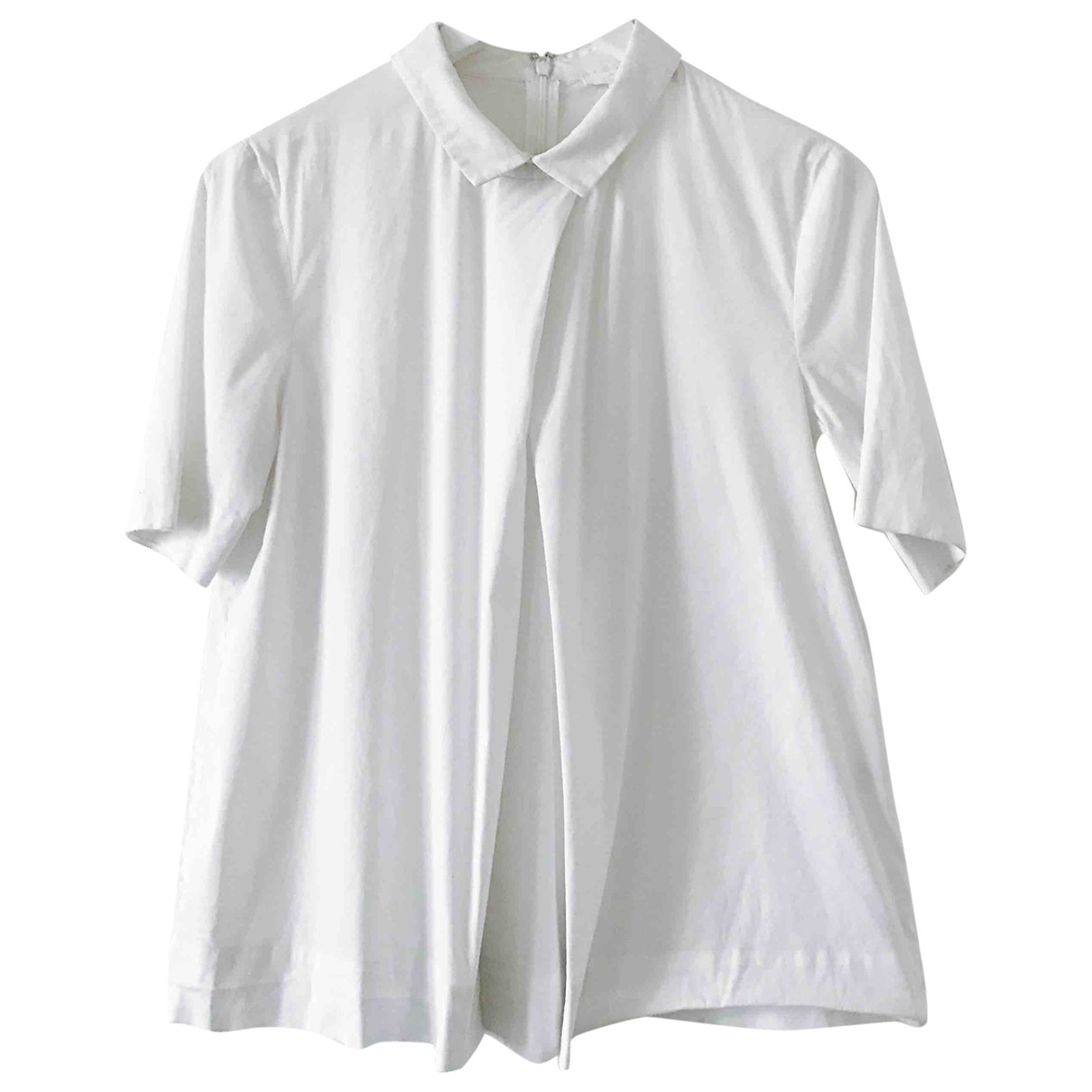 Cos \N White Cotton  top for Women 38 FR