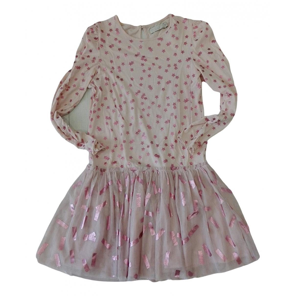Stella Mccartney \N Kleid in  Rosa Baumwolle