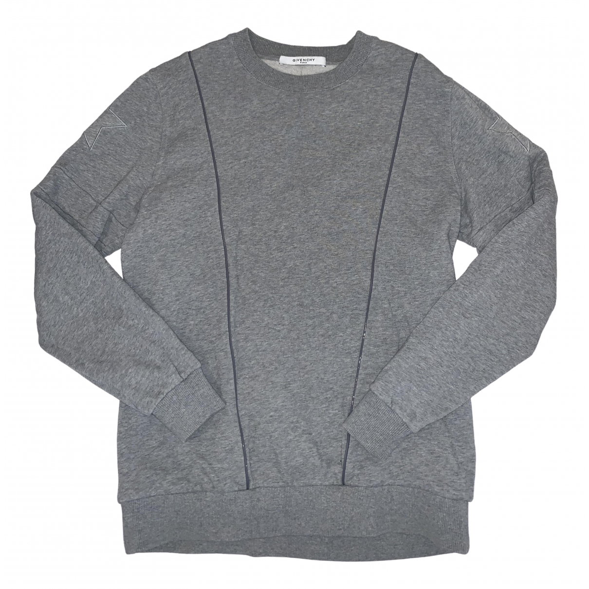 Givenchy N Grey Cotton Knitwear & Sweatshirts for Men XS International