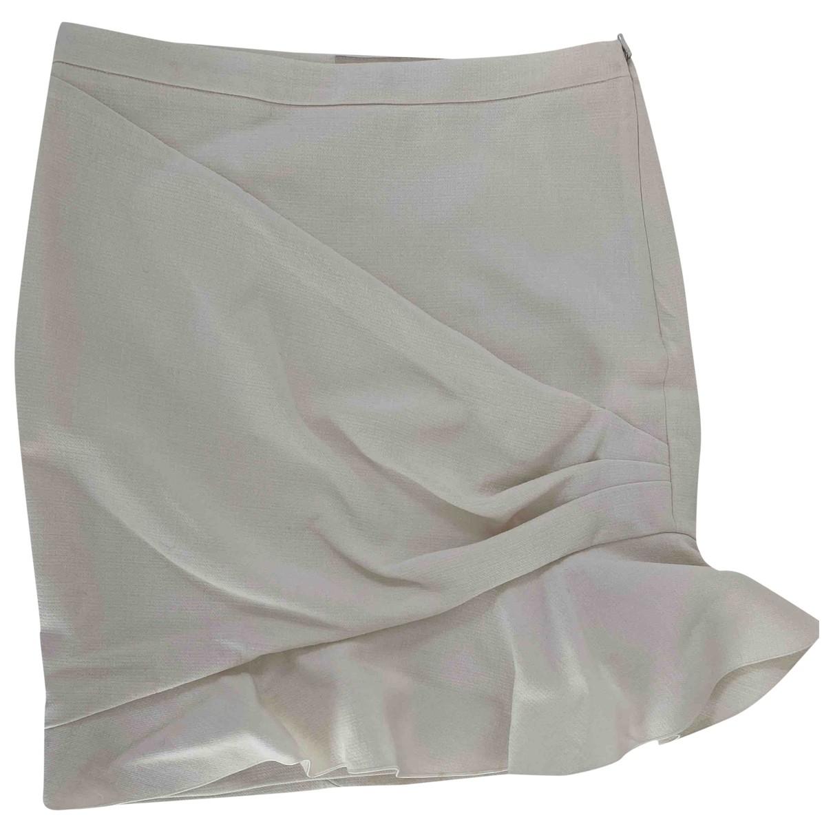Emilio Pucci - Jupe   pour femme en coton - elasthane - ecru