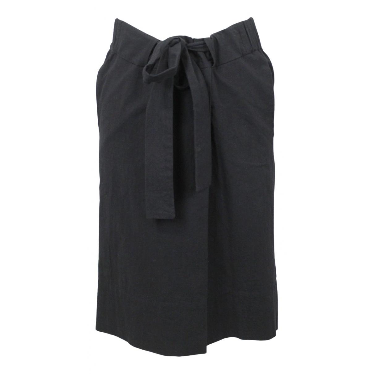Isabel Marant Etoile - Jupe   pour femme en coton - noir