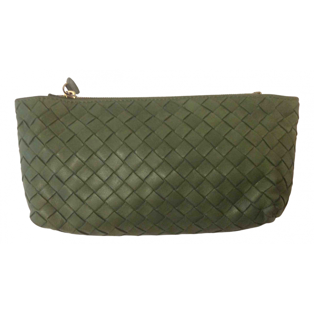 Bottega Veneta \N Green Leather Purses, wallet & cases for Women \N