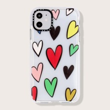 1 Stueck iPhone Schutzhuelle mit Herzen Muster