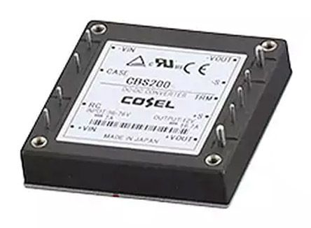 Cosel 150W Isolated DC-DC Converter Through Hole, Voltage in 18 → 36 V dc, Voltage out 5V dc