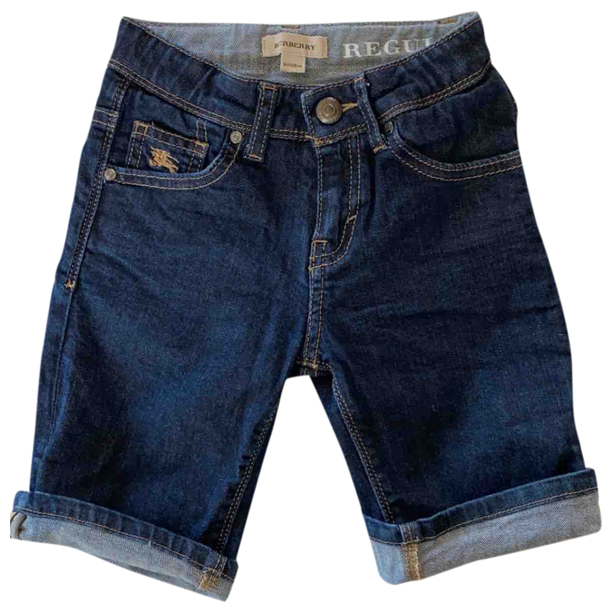 Burberry \N Shorts in  Blau Denim - Jeans