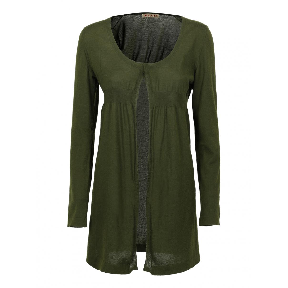 Marni - Pull   pour femme en laine - vert