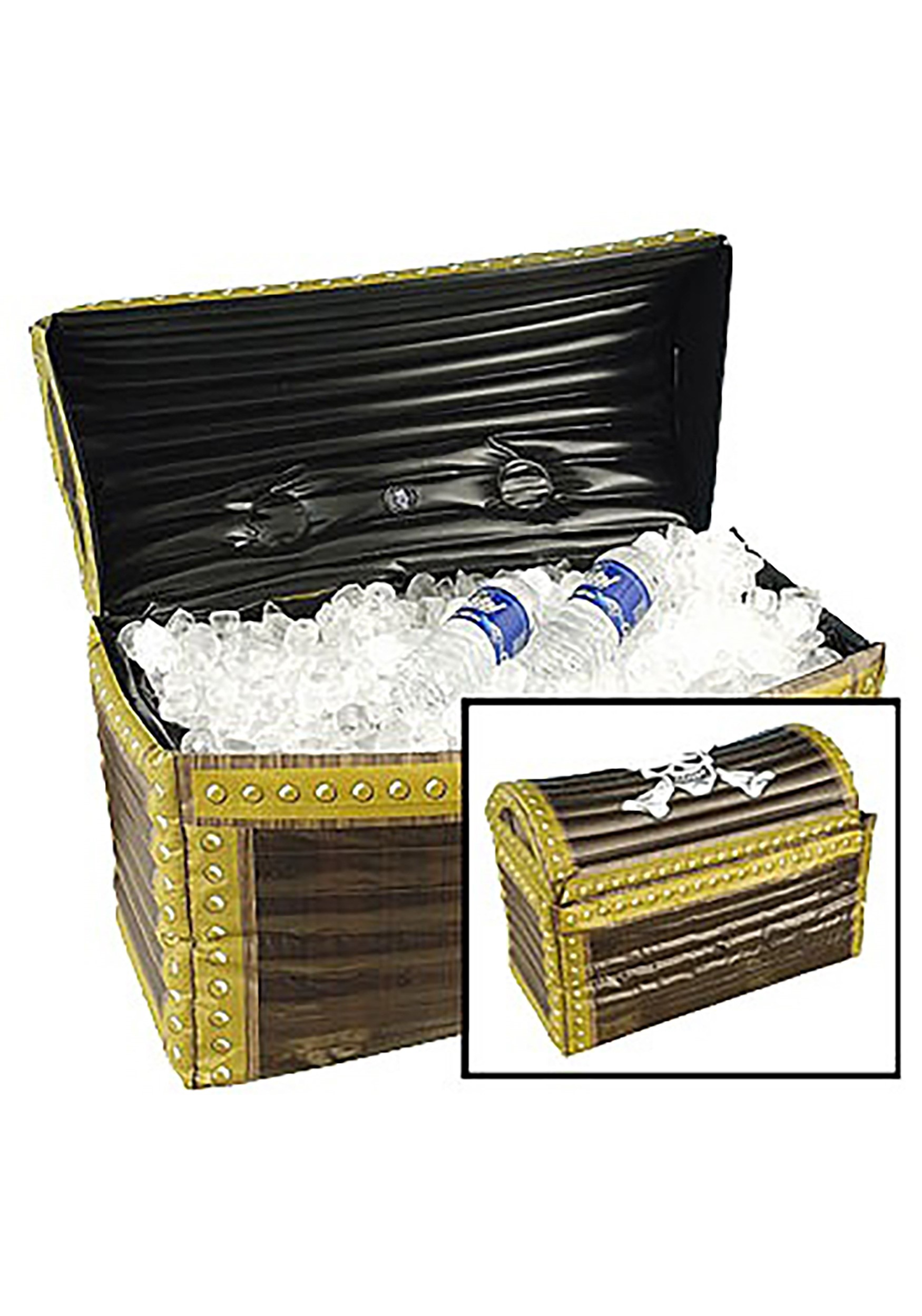 Pirate Treasure Chest Inflatable Cooler